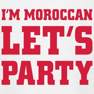 I'm Moroccan Let's Party, cairaart.com T-Shirts - Kinder T-Shirt