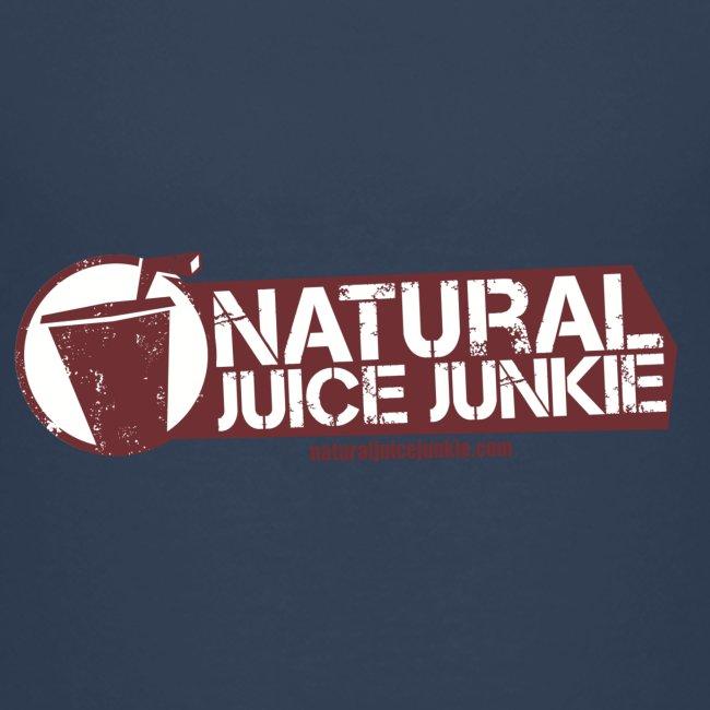 Natural Juice Junkie - Teenager's Logo Tee