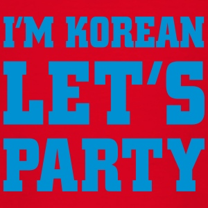 I'm Korean Let's Party, cairaart.com Shirts - Kids' T-Shirt