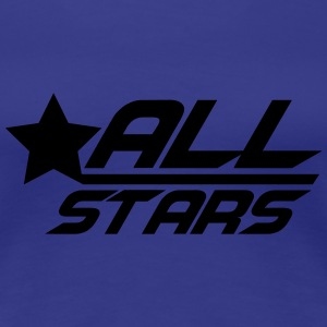 Cool Allstars Logo T-Shirts - Frauen Premium T-Shirt