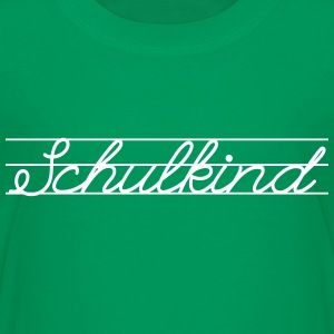 Schulkind T-Shirts - Teenager Premium T-Shirt