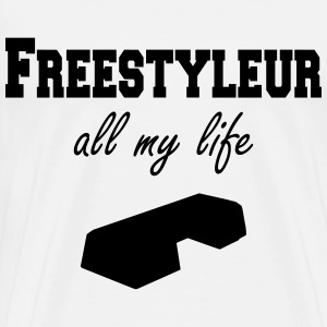 Freestyleur all my life step T-Shirts - Men's Premium T-Shirt
