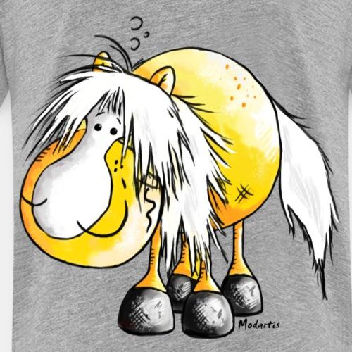 Haflinger - Pferd - Cartoon