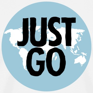 Just Go (Travel) Camisetas - Camiseta premium hombre