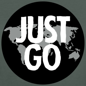 Just Go (World Map) T-Shirts - Frauen Bio-T-Shirt