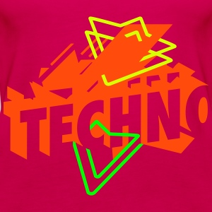 Techno Musik Tops - Frauen Premium Tank Top