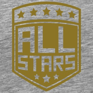 Allstars shield rank badge T-Shirts - Men's Premium T-Shirt