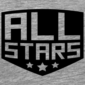 Allstars rang badge T-shirts - Herre premium T-shirt