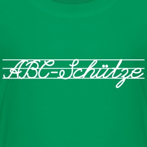 ABC Schütze T-Shirts - Teenager Premium T-Shirt