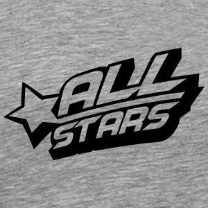 Allstars Cool Logo Design T-Shirts - Men's Premium T-Shirt