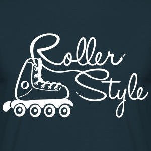 roller style 1 Tee shirts - T-shirt Homme
