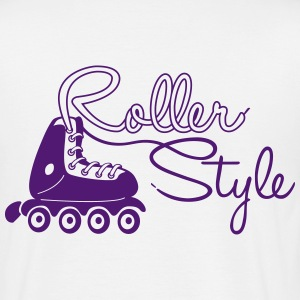 roller style 2a Tee shirts - T-shirt Homme