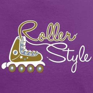 roller style 2 Tee shirts - T-shirt contraste Femme