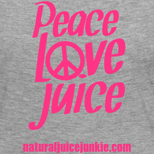 Peace Love Juice - Women's Long Sleeve