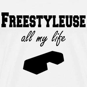 Freestyleuse all my life step T-Shirts - Men's Premium T-Shirt