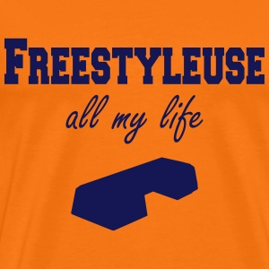 Freestyleuse all my life step T-shirts - Premium-T-shirt herr
