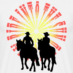 Ride into the sun - Cowboys T-Shirts - Männer T-Shirt