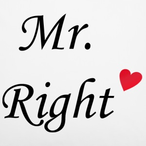 Mr. Right Sonstige - Kissenbezug 40 x 40 cm
