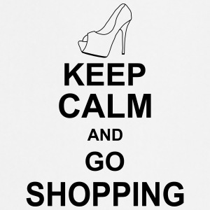 keep_calm_and_go_shopping_g1 Fartuchy - Fartuch kuchenny