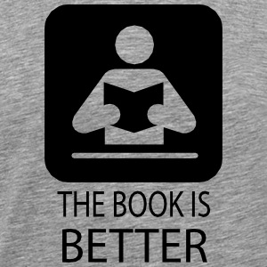 The book is better.ai T-Shirts - Men's Premium T-Shirt