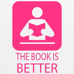 The book is better.ai Tops - Women's Tank Top by Bella