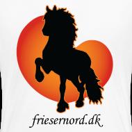 Motiv ~ Frieser Nord åkande T-shirt Dame