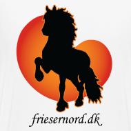 Motiv ~ Frieser Nord åkande T-shirt Herre