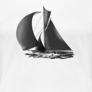 sailboat T-Shirts - Women's Premium T-Shirt