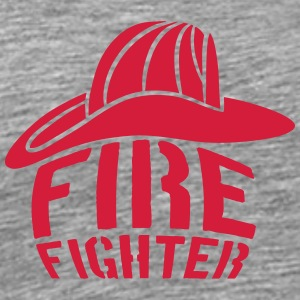 Helm Firefighter Logo T-Shirts - Men's Premium T-Shirt