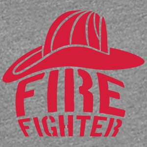 Helm Firefighter Logo T-Shirts - Frauen Premium T-Shirt