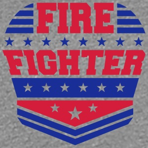 Firefighter rank badge emblem logo T-Shirts - Women's Premium T-Shirt