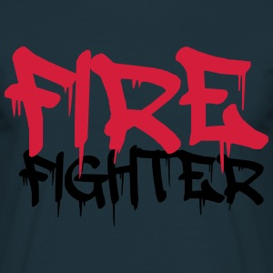 Firefighter Graffiti Logo T-Shirts - Men's T-Shirt