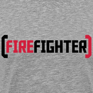 Firefighter Logo T-Shirts - Men's Premium T-Shirt