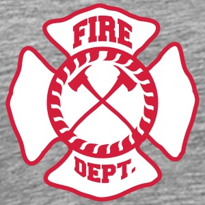 Fire Brigade logo icon T-Shirts - Men's Premium T-Shirt