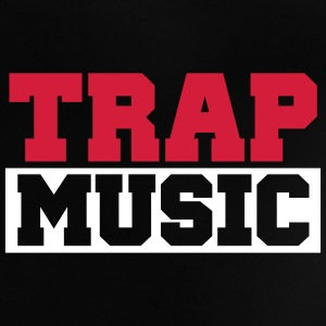TRAP MUSIC - BASS PARTY Skjorter - Baby-T-skjorte