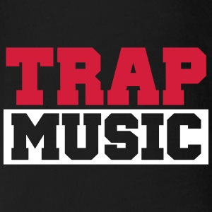 TRAP MUSIC - BASS PARTY T-Shirts - Baby Bio-Kurzarm-Body