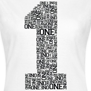 Number One (Typography) T-Shirts - Women's T-Shirt