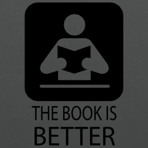 The book is better.ai Bags & Backpacks - Tote Bag