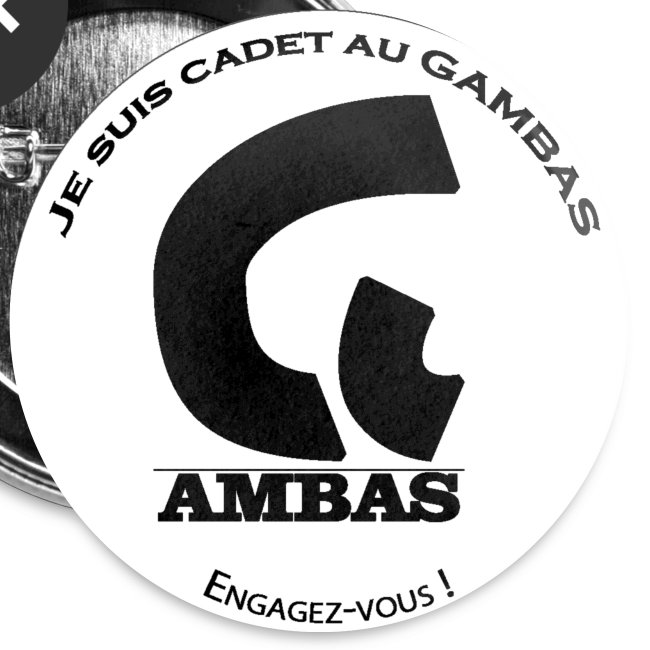 Badge Cadet au GAMBAS