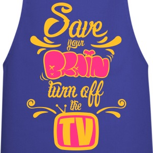 Turn Off The TV  Aprons - Cooking Apron