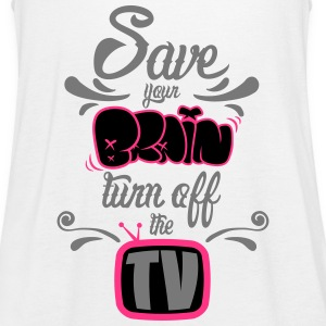 Turn Off The TV Tops - Women's Tank Top by Bella