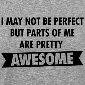 I May Not Be Perfect, But Parts Of Me Are ... Tee shirts - T-shirt Premium Homme