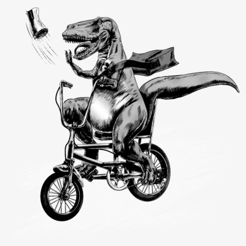 T Rex Paperboy Old school