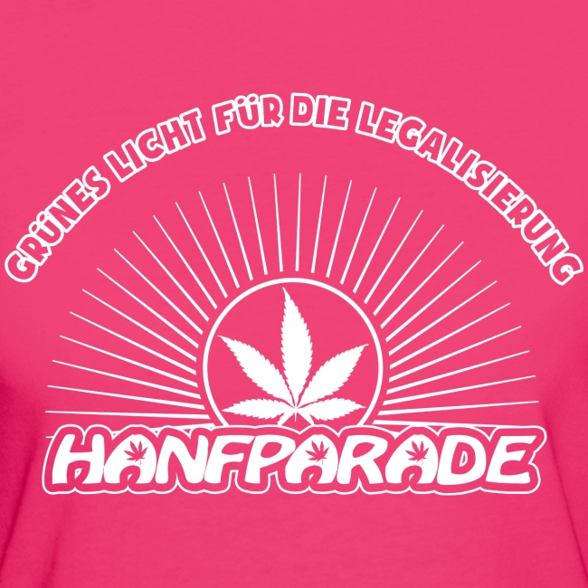 Hanfparade 2014 Bio T-Shirt Frauen