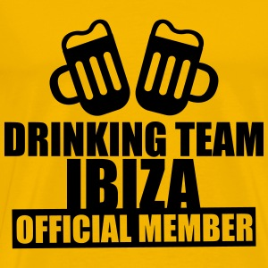 Drinking Team Ibiza T-Shirts - Men's Premium T-Shirt