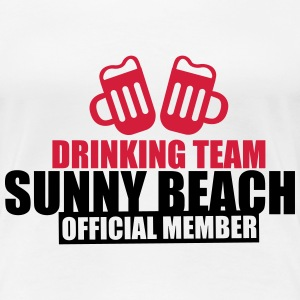 Drinking Team Sunny Beach T-Shirts - Frauen Premium T-Shirt