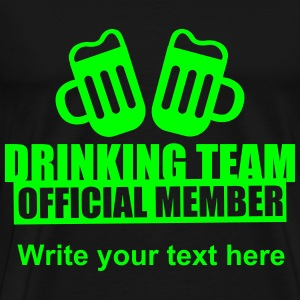 Drinking Team Party Crew Tee shirts - T-shirt Premium Homme