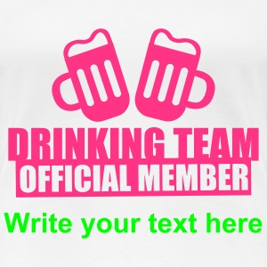 Drinking Team Party Crew Tee shirts - T-shirt Premium Femme