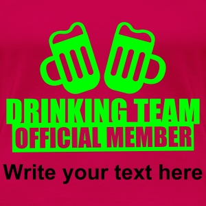 Drinking Team Party Crew T-shirts - Vrouwen Premium T-shirt
