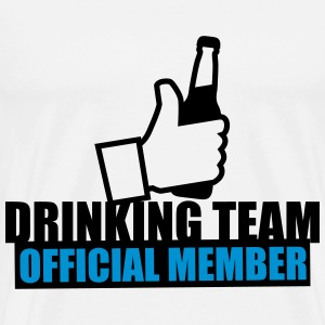 Drinking Team Beer Like Tee shirts - T-shirt Premium Homme
